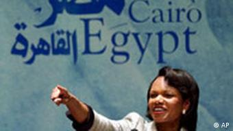 Condoleezza Rice in Ägypten