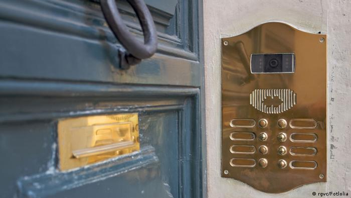 doorbell, intercom and letterbox © rgvc #40957365