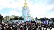 Kiew Demo Proteste TV Sender TVi