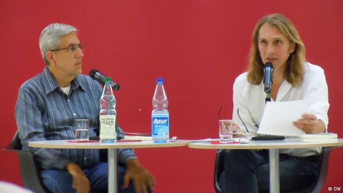 Frankfurt - José Castello und Michael Kleger