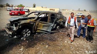 Autobombe Kirkuk Irak Anschlag