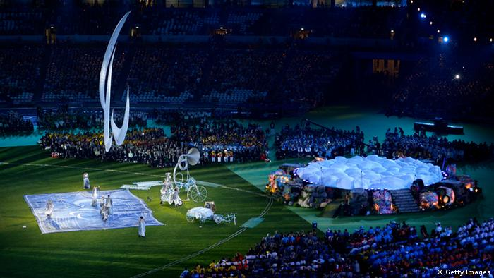 Paralympics closing ceremony (Photo by Dennis Grombkowski/Getty Images)