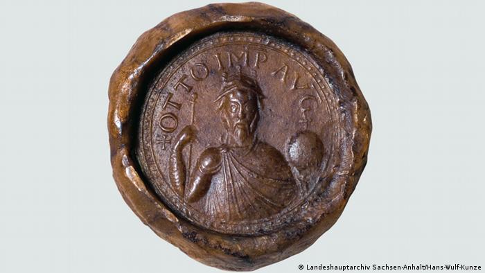 Печать императора Оттона I
