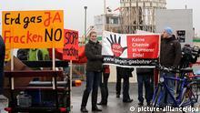 Protest Fracking Februar 2011