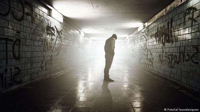 Symbolbild Außenseiter Einsamkeit