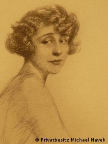 A drawing of Adelheid Struck from the 1930s Private collection of Dr. Michael Naveh. Photo: DW/Aya Bach Date: August 2012