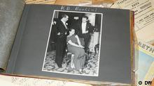 Adelheid Struck's photo-album from the 1930s. Private collection of Dr. Michael Naveh. Photo: DW/Aya Bach Date: August 2012 ***Herr Dr. Naveh ist mit der Veröffentlichung sämtlicher BIlder - ausschließlich im Zusammenhang mit dem Bericht zum Projekt des MMZ - einverstanden.***