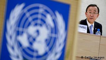 Eröffnung der 21. Sitzung des UN-Menschenrechtsrats in Genf 2012