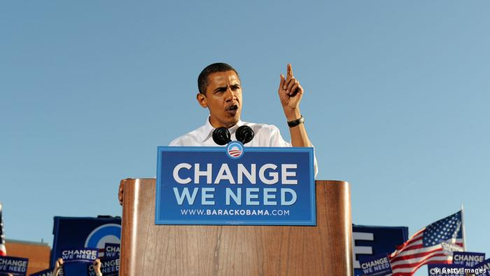 Barack Obama 2008 Change Wahlkampf