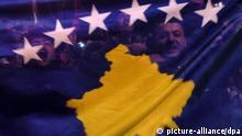 Kosovo Fahne Unabhängigkeit