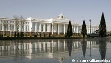 Ein Regierungsgebäude im Regierungsviertel in Taschkent, der Hauptstadt von Usbekistan, aufgenommen am 26.02.2008. Foto: Tim Brakemeier +++(c) dpa - Report+++ pixel