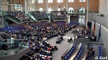 Schäuble Haushaltsdebatte