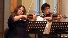 Members of the Turkish National Youth Philharmonic Orchestra
