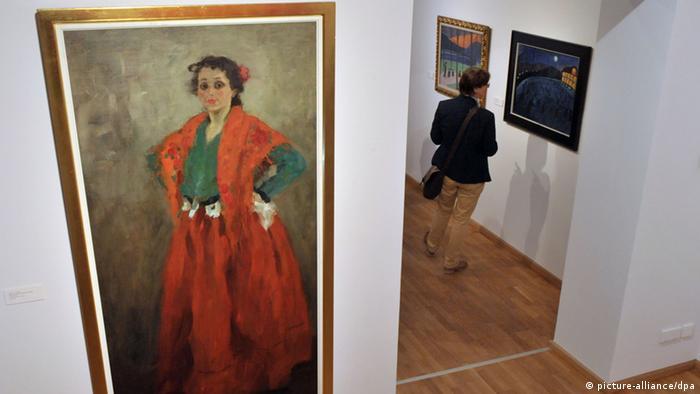 Художественное собрание города Йены специализируется на искусстве классического модерна