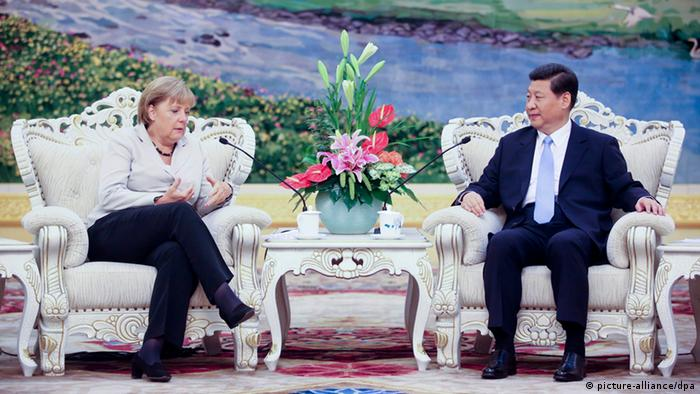 Angela Merkel Xi Jinping (picture-alliance/dpa)