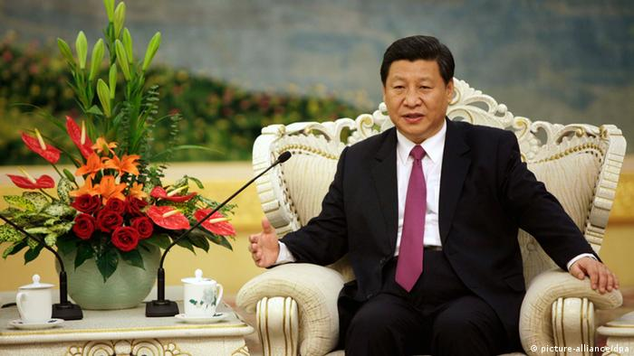 Chinese Vice-President Xi Jinping; Photo: EPA/HOW HWEE YOUNG/ POOL (c) dpa - Bildfunk