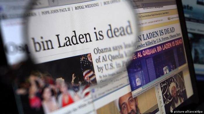 Osama bin Laden Tod Reaktion Symbol Internet