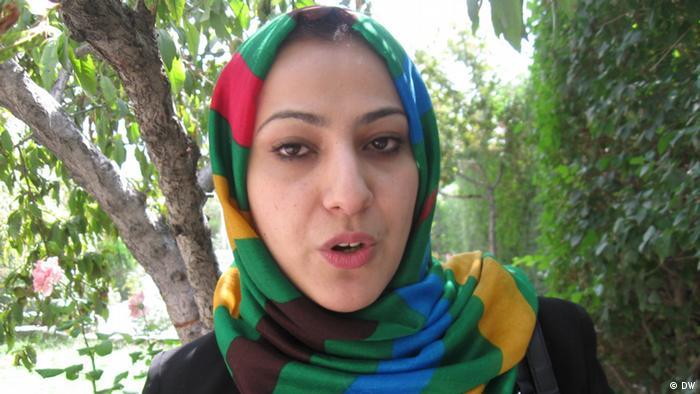 Nahid Ahmadi Farid Parlamentarierin in Afghanistan