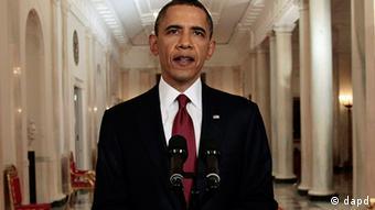 Барак Обама объявляет о ликвидации Усамы бен Ладена