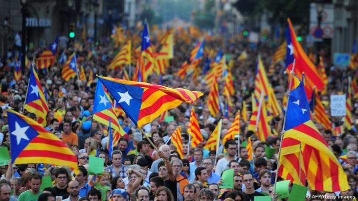 Spanien Unabhängigkeit Katalonien (AFP/Getty Images)