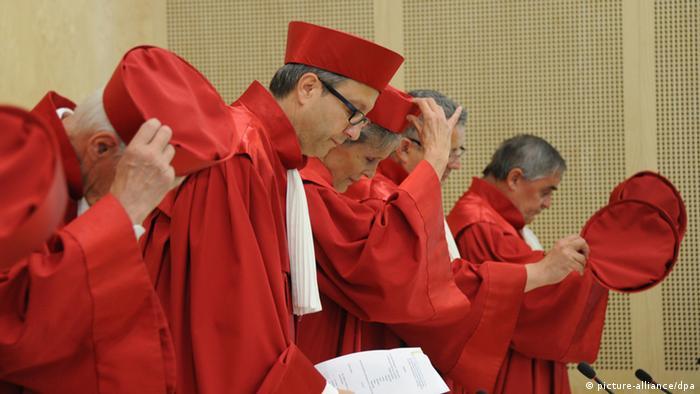 Судьи Федерального конституционного суда Германии в Карлсруэ