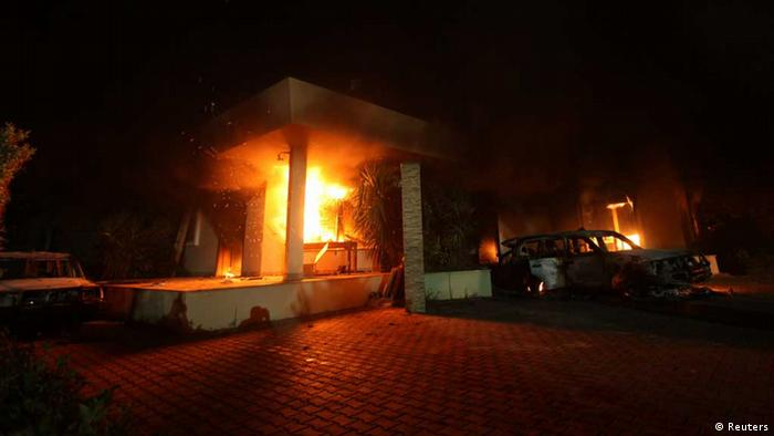 Libyen/ Bengasi/ US-Konsulat (Reuters)