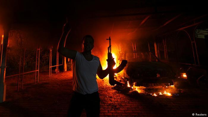 Libyen Bengasi Anschlag auf US-Konsulat
