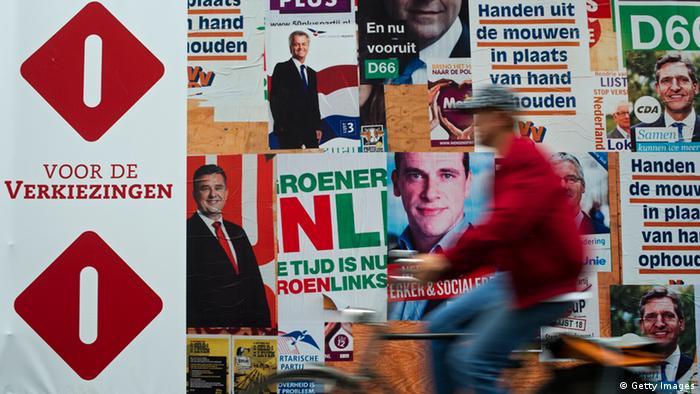 Избирательные плакаты в Нидерландах