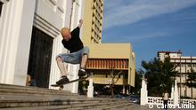 Jorge Agostinho Albino-Skater in Mosambik