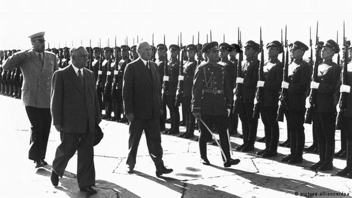 Аденауэр в Москве. 1955 год