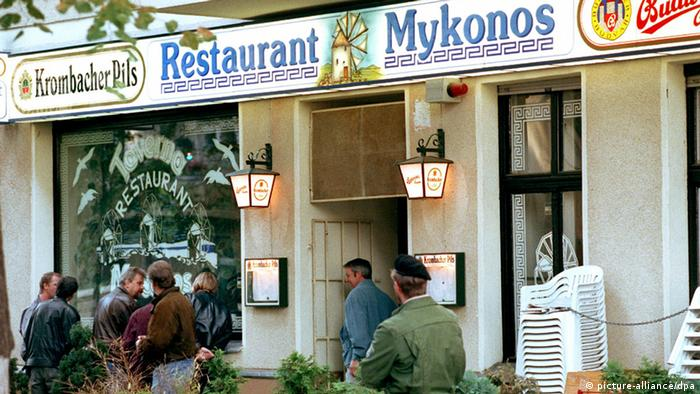 Attentat Restaurant Mykonos (picture-alliance/dpa)