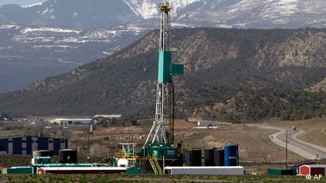 Установка буріння сланцевої нафти в США