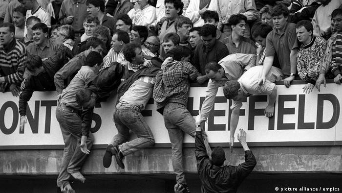 Hillsborough Liverpool Desaster Unglück Krawall