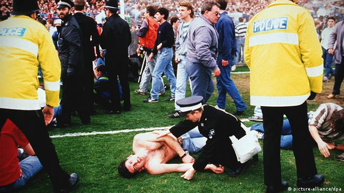 Hillsborough Liverpool Desaster Unglück