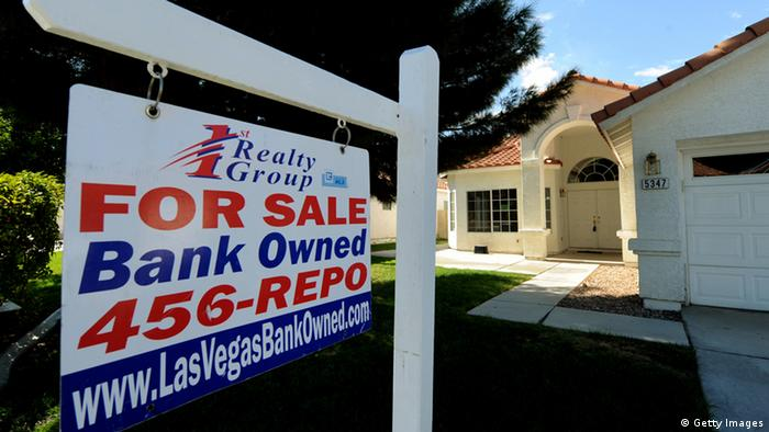 A house under foreclosure that is now bank owned in the Spring Valley area in Las Vegas on October 15, 2010. (Photo: MARK RALSTON/AFP/Getty Images)