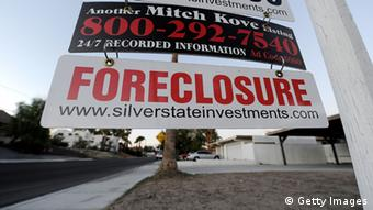 Foreclosed home in the US