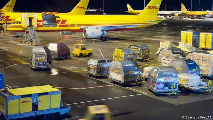 Empresa de Logística DHL.