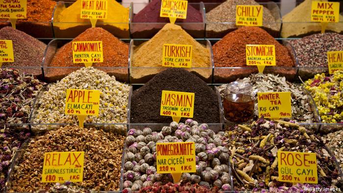 Türkei Istanbul Markt Gewürze
