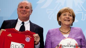 Angela Merkel şi Uli Höneß