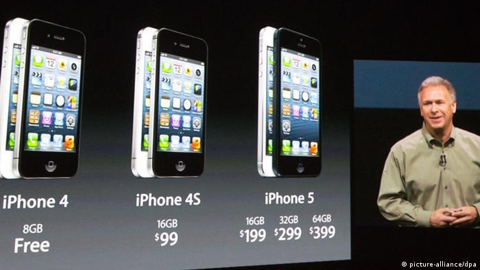 iPhone 5'in tanıtım toplantısında konuşanlar arasında Apple Pazarlama Müdürü Phil Schiller de vardı.