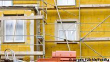 Bauarbeiten Haus Wärmeisolierung