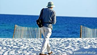 На пляже во Флориде