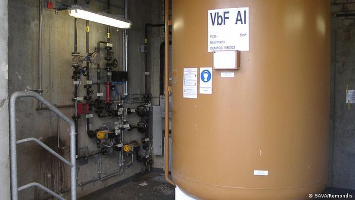 Утилизация ПХБ, Совтол содержащих трансвформаторов в Германии на заводе САВА Ремондис / SAVA Remondis