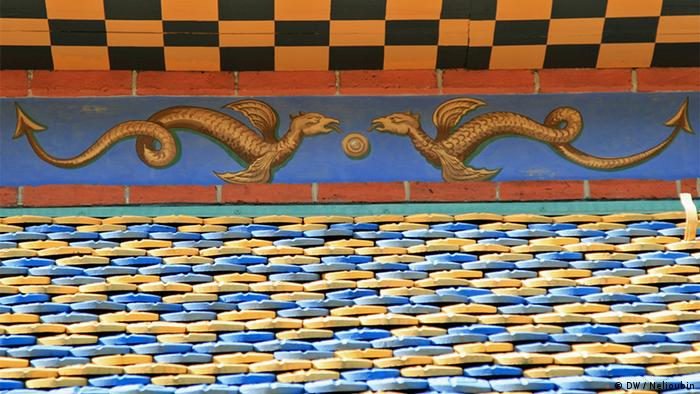 Крыша китайского домика