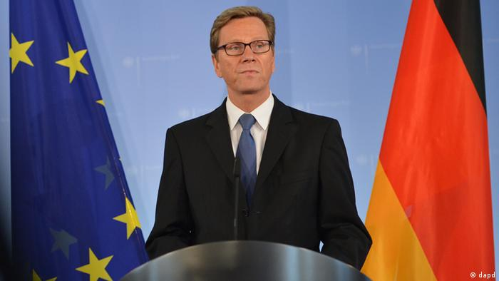 Germany's foreign minister Guido Westerwelle (FDP) (picture: Oliver Lang/dapd)