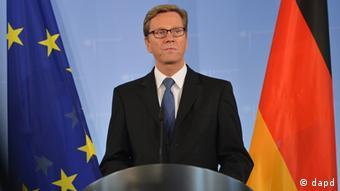 Guido Westerwelle, o ministro alemão dos Negócios Estrangeiros