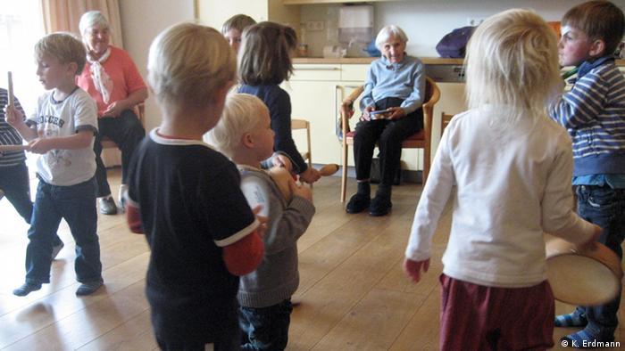 Copii și bătrâni