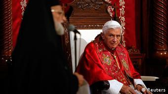 Papst Benedikt XVI im Libanon
