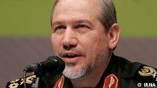 The head of the elite Revolutionary Guards Yahya Rahim Safavi, Quelle: Irna.ir Frei
