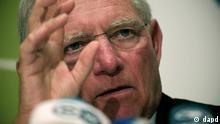 Zypern Nikosia EU Finanzminister Treffen ECOFIN Wolfgang Schäuble